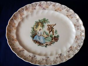 "Vintage Johnson Bros Platter 12"", Made in England"