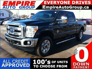 2015 FORD F-250 LARIAT SUPER DUTY | LEATHER | SUNROOF | REAR CAM
