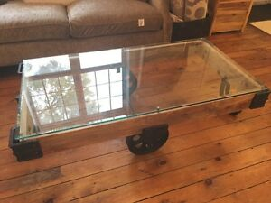 Factory Cart Industrial Coffee Table