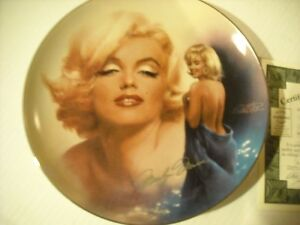 "Marilyn Monroe 8"" Plate - Reflections Of Marilyn, # 12934 Peterborough Peterborough Area image 1"