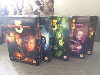 Babylon 5 Complete DVD boxed sets Seasons 1-5
