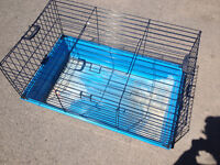 Extra large bunny or guinea pig cage with front opening.