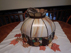 Antique Stained Glass Light Fixture -   Reduced  ! Windsor Region Ontario image 1