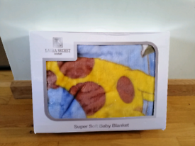 Very Soft Baby Blanket New