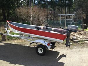 12 foot aluminum fishing boat and trailer powerboats for 12 foot fishing boat