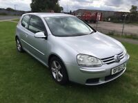 56 REG VOLKSWAGEN GOLF 2.0 TDi SPORT 3DR-6 SPEED-SERVICE HISTORY-LOOKS AND DRIVES WELL