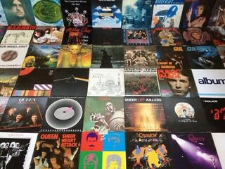 Private collector seeks vinyl records mainly lps