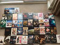 40+ DVD and BLU RAY bundle. Action / rom com / tv box set