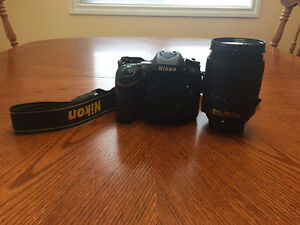Nikon D7100 with 18-140 mm Lens