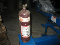 Offering 10 Cu/Ft  [ MC ] Acetylene Welding/Cutting Gas Tank