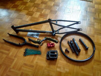 DISCOUNTED - BMX Bicycle Parts: S&M - Odyssey - Profile - Animal