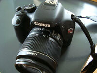 Canon Rebel T2i with Canon Zoom lens 58mm