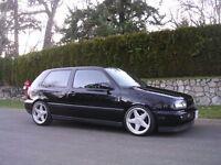 Azev deep dish alloy wheels, 5x100 Vw Golf Mk 3 vr6, MK4, passat bora