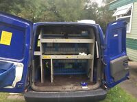 Racking system for vauxhall combo