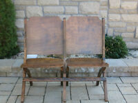 MCM 2 Seater Chapel Chairs