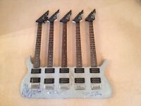 5 neck guitar - BC Rich signed by ZZ Top Offers & Trades accepted fender Gibson style