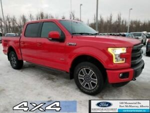 2015 Ford F-150 Lariat|Twin Panel Moonroof|Adapt Cruise|Tech Pkg