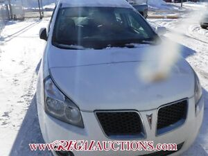 2009 PONTIAC VIBE BASE 4D HATCHBACK BASE