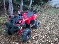 Coolster 125 midsize ATV