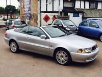 Volvo C70 2.0 automatic fully loaded 1 owner from new full service history