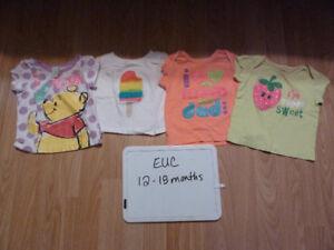 12-18 months Girls clothes