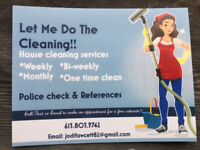 Let Me Do The Cleaning!