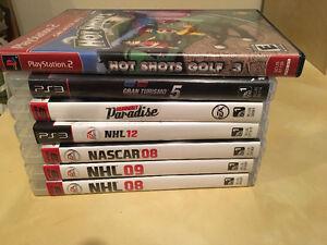 Jeux de PS3 variés x6
