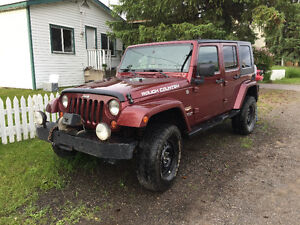2007 Jeep Wrangler Unlimited Sahara SUV, Crossover