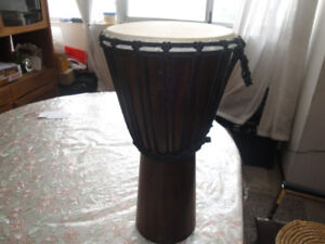 AFRICAN DRUMS DJEMBE  DRUMS/DURBAKA DRUMS  BRAND NEW  $175