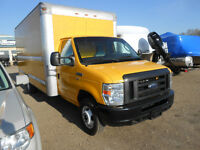 2011 Ford Cube Van 16 Morgan box like new ! 130,000 miles only!