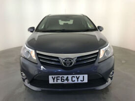 2014 64 TOYOTA AVENSIS ICON D-4D DIESEL ESTATE 1 OWNER SERVICE HISTORY FINANCE