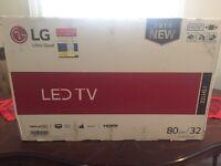 LG Lcd 32/80cm hd brand new in box