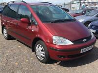 2003/53 Ford Galaxy 2.3 auto LX LONG MOT EXCELLENT RUNNER