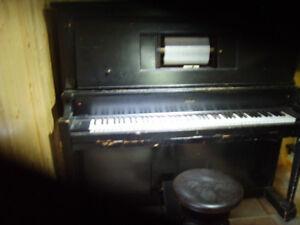 Piano automatique 50 rouleaux livré