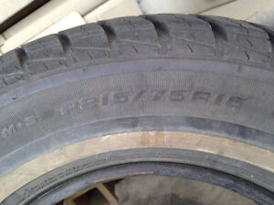 215/75/15.  Hallmark Premium All season tire Strathcona County Edmonton Area image 3