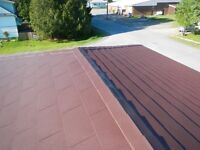 DID YOUR SHINGLES BLOW AWAY? METAL IS THE WAY?
