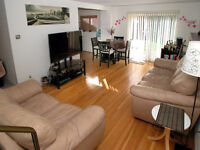 Beautiful 2 bedroom townhouse at Don Mills & Sheppard March 1st