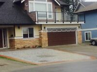 Available July 1.   3 bedroom upstairs in langford