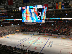 World Cup Of Hockey - FINALS - Section 308 Row 2 (centre ice)