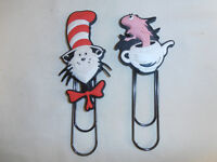 TWO DR. SEUSS BOOK MARKS