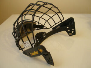 Hockey Helmet with or without cage, gloves, sticks. shin pads