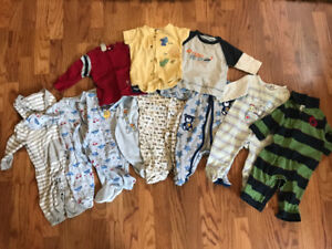 Baby Boy Clothes 3-6 MONTHS Jumpers, Onesies, Sleepers, Shirts..