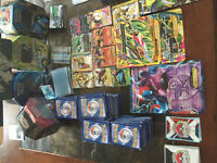 Pokemon trading  cards and some EX cards