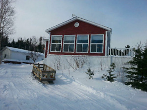 Price drop Cottage/Home on the ocean, 30x30' detached garage