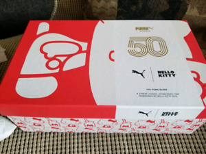 EXCLUSIVE Puma X Hello Kitty Size 8 Womens Shoes