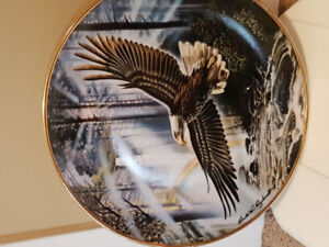 Franklin Mint collector plates  Eagles