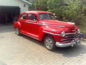 1946 Plymouth Special Delux ( Flathead 6 )(3 On Tree) low milage