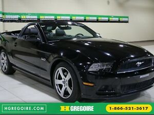 2013 Ford Mustang GT 5.0L AUTO A/C CUIR TOIT MOU MAGS