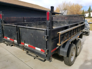 2009 Homesteader Dump trailer