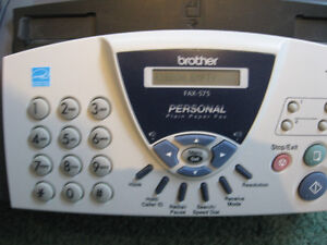 FAX Machine Brother FAX-575 Used good condition - needs ribbon. West Island Greater Montréal image 2